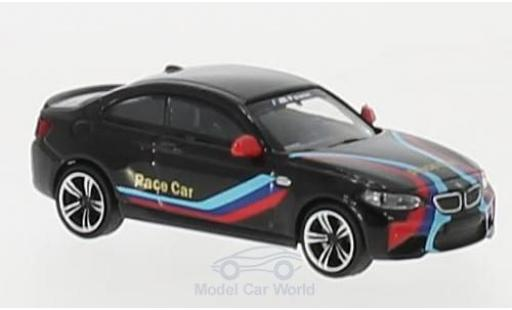 Bmw M2 1/87 Minichamps nero 2016 Pace Car miniatura