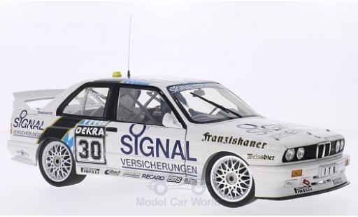 Bmw M3 E30 1/18 Minichamps  DTM No.30 Team Isert Signal Versicherungen DTM 1991 L.von Bayern diecast model cars
