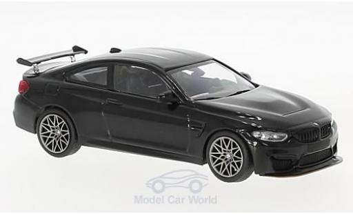Bmw M4 1/43 Minichamps BMW (F82) GTS metallic-noire 2016 mit griseen Felgen miniature