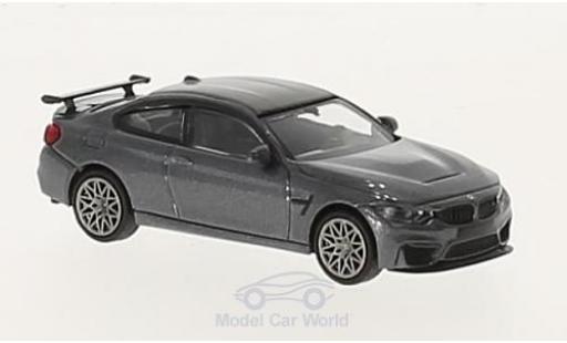 Bmw M4 1/87 Minichamps BMW GTS metallic-grey 2016 mit greyen Felgen diecast