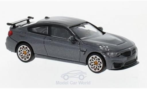 Bmw M4 1/87 Minichamps BMW GTS metallic-grise 2016 mit orangen Felgen miniature