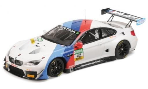 Bmw M6 1/18 Minichamps GT3 No.42 Team Schnitzer ADAC GT Masters Oschersleben 2017 R.Collard/P.Eng diecast model cars