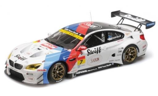 Bmw M6 1/18 Minichamps GT3 No.7 Team Studie AG Steiff Super GT Japan 2016 J.Müller/S.Ara miniature