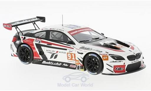Bmw M6 1/43 Minichamps GT3 No.91 Aai Racing Team Asian Le Mans 2016 J.S.Chen/O.Millroy/P.Eng miniature