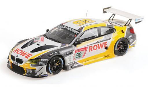 Bmw M6 1/18 Minichamps GT3 No.98 Rowe Racing 24h Nürburgring 2020 M.Wittmann/T.Blomqvist/P.Eng miniature