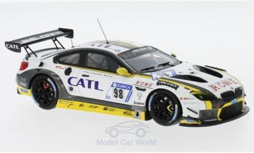 Bmw M6 1/43 Minichamps GT3 No.99 Rowe Racing CATL 24h Nürburgring 2017 M.Palttala/N.Catsburg/A.Sims/R.Westbrook miniature