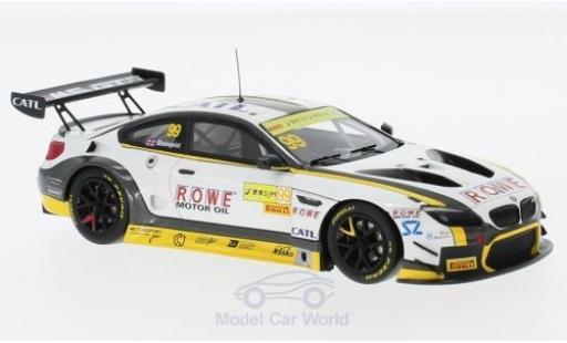 Bmw M6 1/43 Minichamps GT3 No.99 Rowe Racing GT Cup Macau 2017 T.Blomqvist miniature