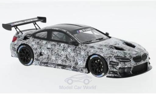 Bmw M6 1/43 Minichamps GT3 Spa 2015 Presentation miniature