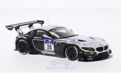 Bmw Z4 1/43 Minichamps GT3 No.20 Sports Trophy Team Schubert 24h Nürburgring 2014 J.Klingmann/D.Baumann/C.Hürtgen/M.Tomczyk diecast model cars