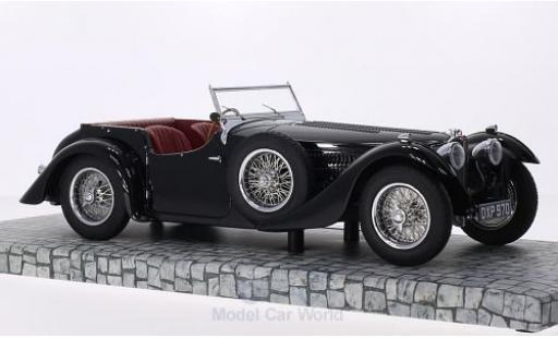 Bugatti 57 SC 1/18 Minichamps Typ C Corsica Roadstar black 1938 Blackhawk Museum Collection diecast model cars