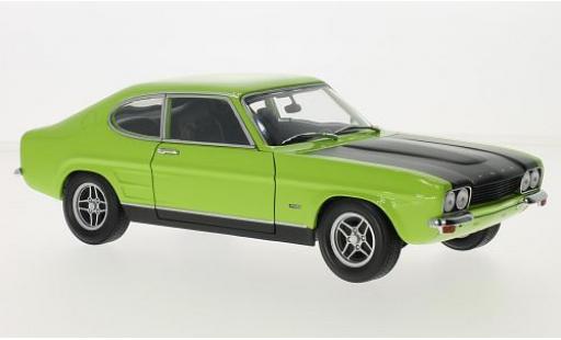 Ford Capri 1/18 Minichamps MKI RS 2600 verte/matt-noire 1970 miniature