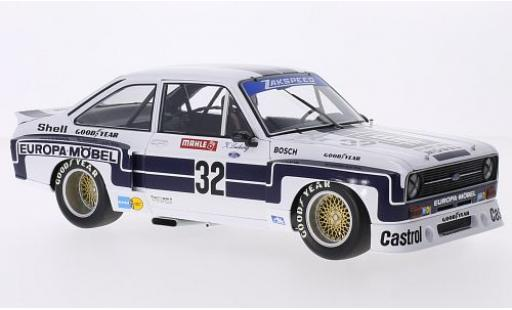 Ford Escort 1/18 Minichamps II RS 1800 No.32 Europa Möbel DRM Nürburgring 1976 K.Ludwig miniature