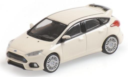 Ford Focus 1/87 Minichamps RS blanche 2018