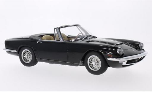 Maserati Mistral 1/18 Minichamps Spyder noire 1964 miniature