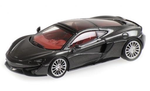 McLaren 570 1/87 Minichamps GT metallise grise miniature