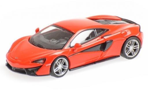 McLaren 570 1/87 Minichamps S rouge miniature