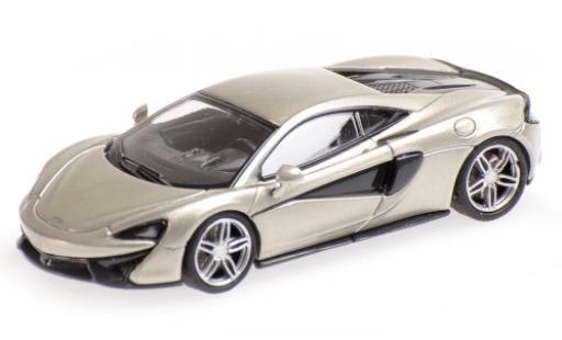McLaren 570 1/87 Minichamps S grise miniature