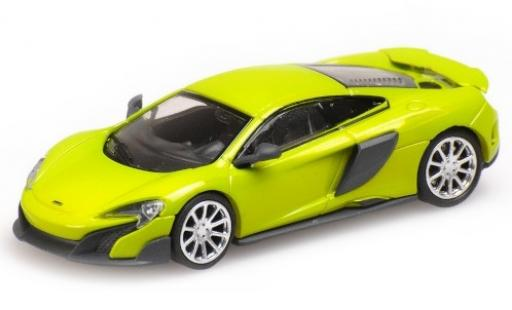 McLaren 675 1/87 Minichamps LT green 2016 diecast model cars