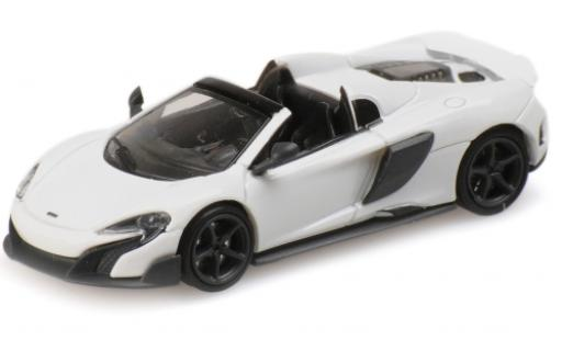 McLaren 675 1/87 Minichamps LT Spider white 2016 diecast model cars