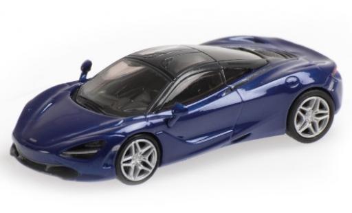 McLaren 720 1/87 Minichamps S blue diecast model cars