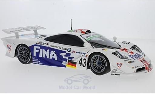 McLaren F1 1/18 Minichamps GTR No.43 Bmw Motorsport 24h Le Mans 1997 P.Kox/R.Ravaglia/E.Helary ohne Vitrine diecast