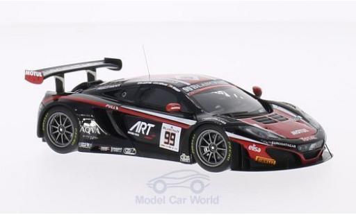 McLaren MP4-12C 1/43 Minichamps GT3 No.99 Team Art Grand Prix 24h Spa 2014 K.Estre/K.Korjus/A.Soucek miniature