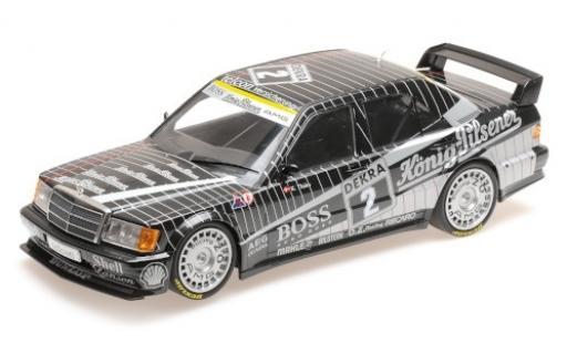 Mercedes 190 1/18 Minichamps E 2.5-16 Evo 1 No.2 AMG Boss / König-Pilsener DTM 1989 K.Thiim miniature