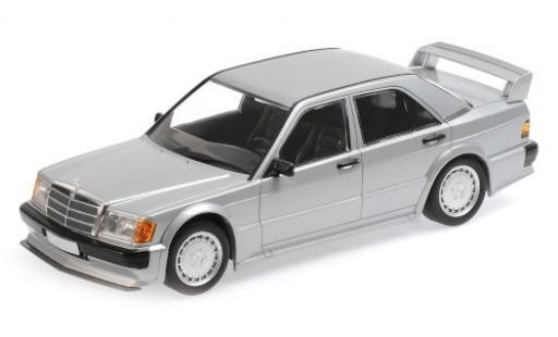 Mercedes 190 1/18 Minichamps E 2.5-16 Evo 1 (W201) grise 1989 miniature