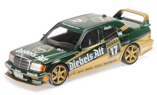 Mercedes 190 1/18 Minichamps E 2.5-16 Evo 2 No.17 Team Zakspeed Diebels Alt DTM 1992 R.Asch miniature