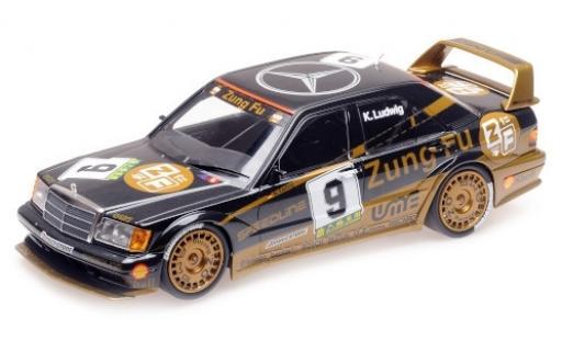 Mercedes 190 1/18 Minichamps E 2.5-16 EVO 2 (W200) No.9 Zung Fu Macau Guia Race 1991 K.Ludwig miniature