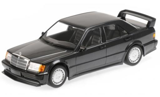 Mercedes 190 1/18 Minichamps E 2.5-16 Evo1 metallise noire 1989 miniature