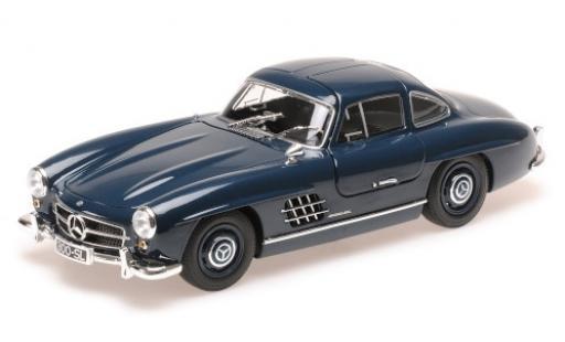 Mercedes 300 1/18 Minichamps SL (W198) bleue 1955