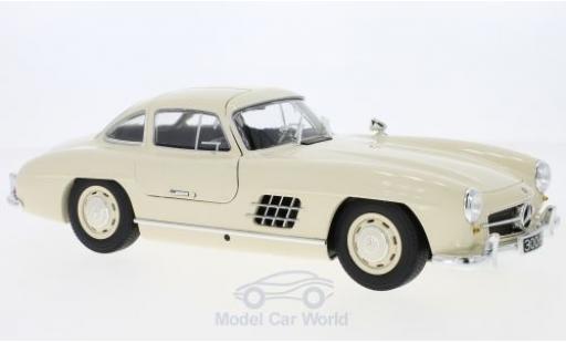 Mercedes 300 SL 1/18 Minichamps (W198) beige 1955 miniature