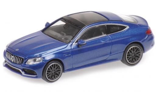 Mercedes Classe C 1/87 Minichamps AMG C 63 Coupe metallise bleue 2019 miniature