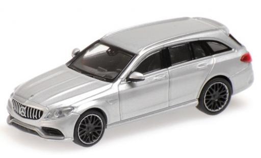 Mercedes Classe C 1/87 Minichamps AMG C63 T-Modell (S205) grise 2019
