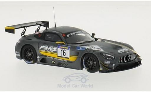 Mercedes AMG GT 1/43 Minichamps 3 No.16 Test Team VLN 2015 T.Jäger/J.Seyffarth/Y.Buurman diecast model cars