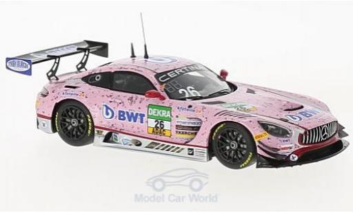 Mercedes AMG GT 1/43 Minichamps 3 No.26 BWT Mücke Motorsport BWT ADAC GT Masters 2017 S.Asch/L.Auer/S.Mücke diecast model cars