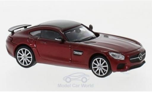 Mercedes AMG GT 1/87 Minichamps S metallise rouge 2015 miniature