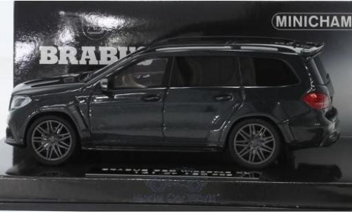 Mercedes Classe S 1/43 Minichamps Brabus 850 Widestar XL métallisé noire 2017 Basis AMG GLS 63 miniature