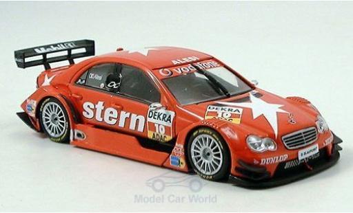 Mercedes Classe C DTM 1/43 Minichamps DTM No.10 Team Persson Stern DTM 2006 J.Alesi miniature
