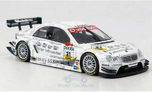Mercedes Classe C DTM 1/43 Minichamps DTM No.21 Team Persson DTM 2005 M.Lauda miniature
