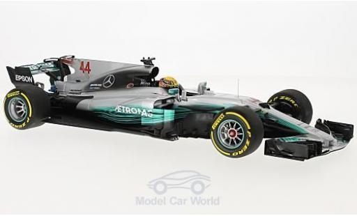 Mercedes F1 1/18 Minichamps W08 EQ Power+ No.44 AMG Petronas Motorsport Petronas Formel 1 GP Spanien 2017 L.Hamilton miniature