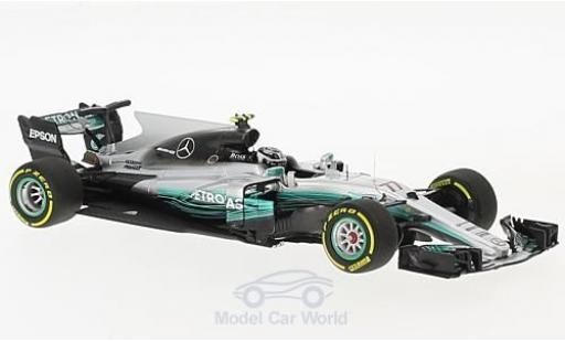 Mercedes F1 1/43 Minichamps W08 EQ Power+ No.77 AMG Petronas Motorsport Formel 1 GP China 2017 V.Bottas miniature