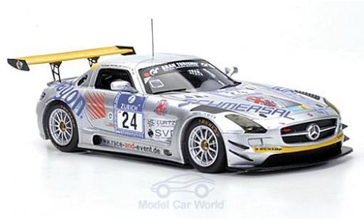 Mercedes SLS 1/43 Minichamps AMG GT3 No.24 Race & Event 24h Nürburgring 2011 Tiger/Geulen/Schmersal/Frers miniature