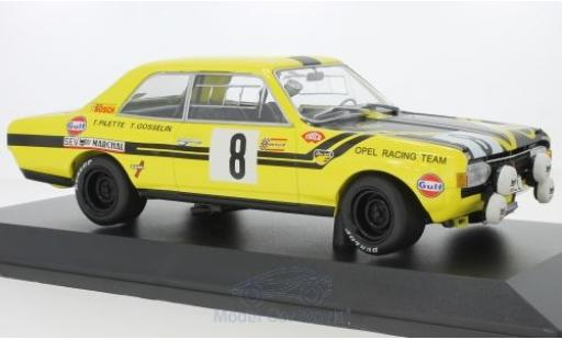 Opel Commodore 1/18 Minichamps A Steinmetz No.8 24h Spa 1970 T.Pilette/G.Gosselin