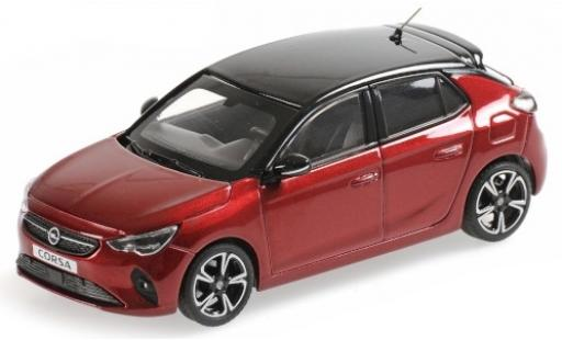 Opel Corsa 1/43 Minichamps metallise red/black 2019