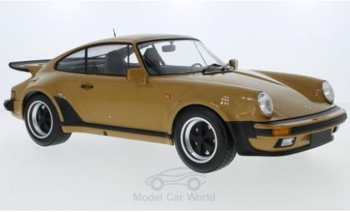Porsche 930 Turbo 1/12 Minichamps (930) Turbo beige 1977 miniature
