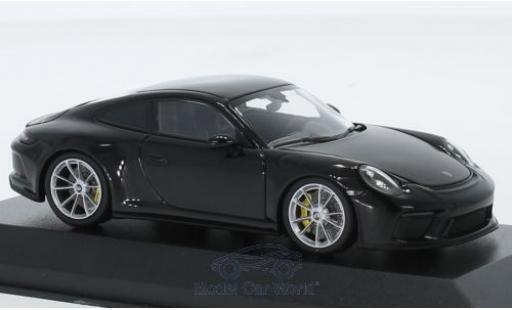 Porsche 991 GT3 1/43 Minichamps 911 (.2) Touring metallise black 2018 diecast model cars