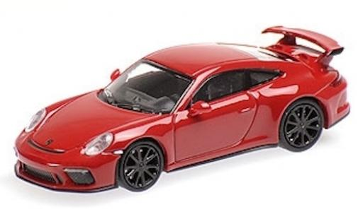 Porsche 991 GT3 1/87 Minichamps 911  red 2017 diecast model cars