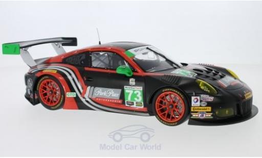 Porsche 991 GT3 R 1/18 Minichamps 911  No.73 Park Place Motorsport 24h Daytona 2017 P.Lindsey/J.Bergmeister/J.McMurray/N.Siedler miniature